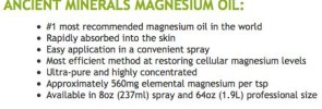 magnesium oil dosage